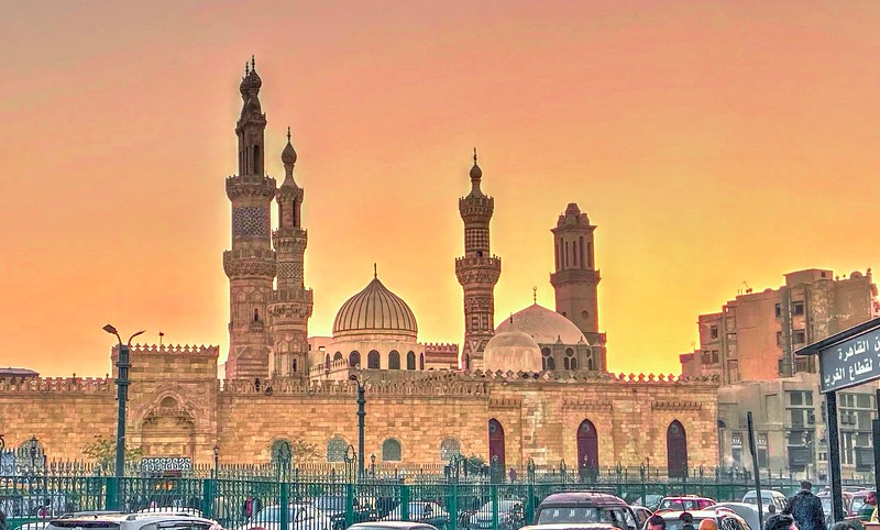 Al Azhar Mosque Founded by the Fatimids in 970 AD as a mosque dedicated to both worship and learning, it developed over the centuries into the most important center of Islamic theology and learning in the world.