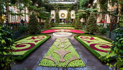 Longwood Gardens Christmas 2017