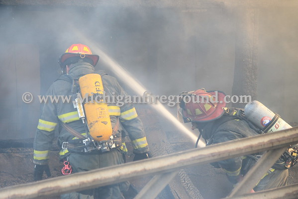 5/7/15 - Hamlin Twp barn fire, 6705 S. Royston