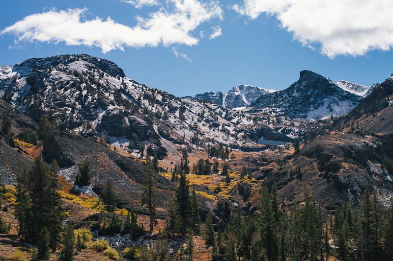 Early fall dusting over Nightcap Peak