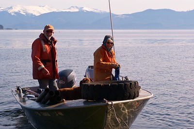 Additional Crew Arrived in a Separate Boat May 2013, Cynthia Meyer, Chichagof Island, Alaska