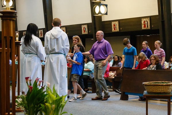 June 14, 2015 - 9:45 am Mass by Fr. Jack Buckalew