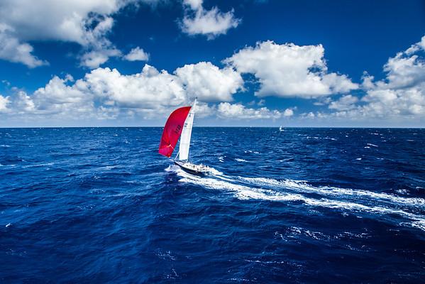 70th annual Lahaina - Oahu yacht race