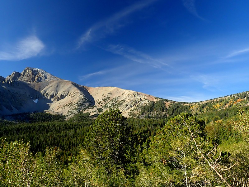 Wheeler Peak Great Basin National Park Nevada