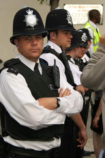 Notting hill Carnival police