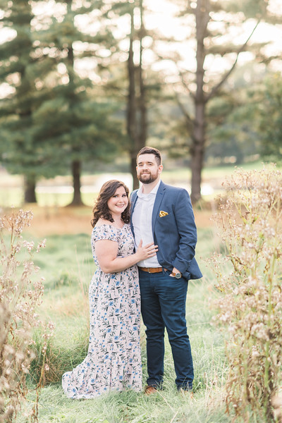 Angela and Matt's Engagement at Lancaster County Park