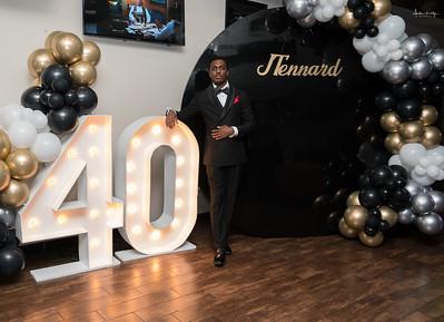 Justin Tennard's 40th Harlem Nights Theme Party