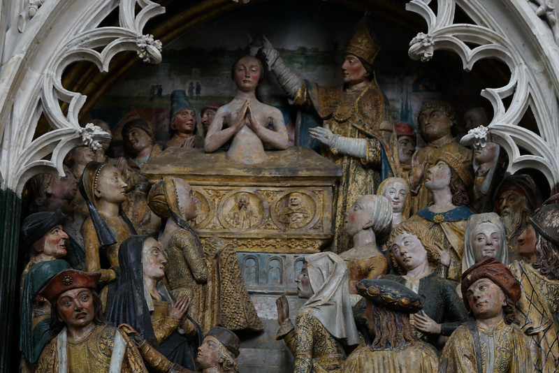 Amiens, Notre-Dame Cathedral, The Baptism of Saint-Fermin