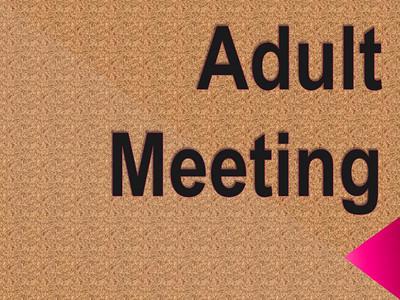 Adult Meeting