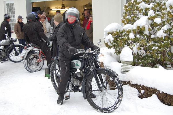 Winterfahrt motorcycle fun in Bielefeld, Germany