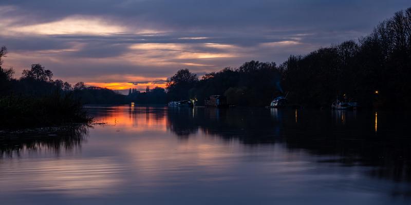 Richmond Upon Thames sunset