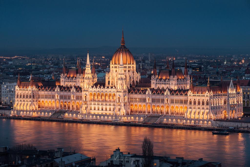 到布達佩斯攝影 匈牙利國會大廈拍攝心得與建議 Hungarian Parliament by Wilhelm Chang 張威廉