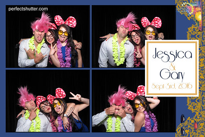 Kingsville, Ont: Jessica and Gary, Photo Booth Rental