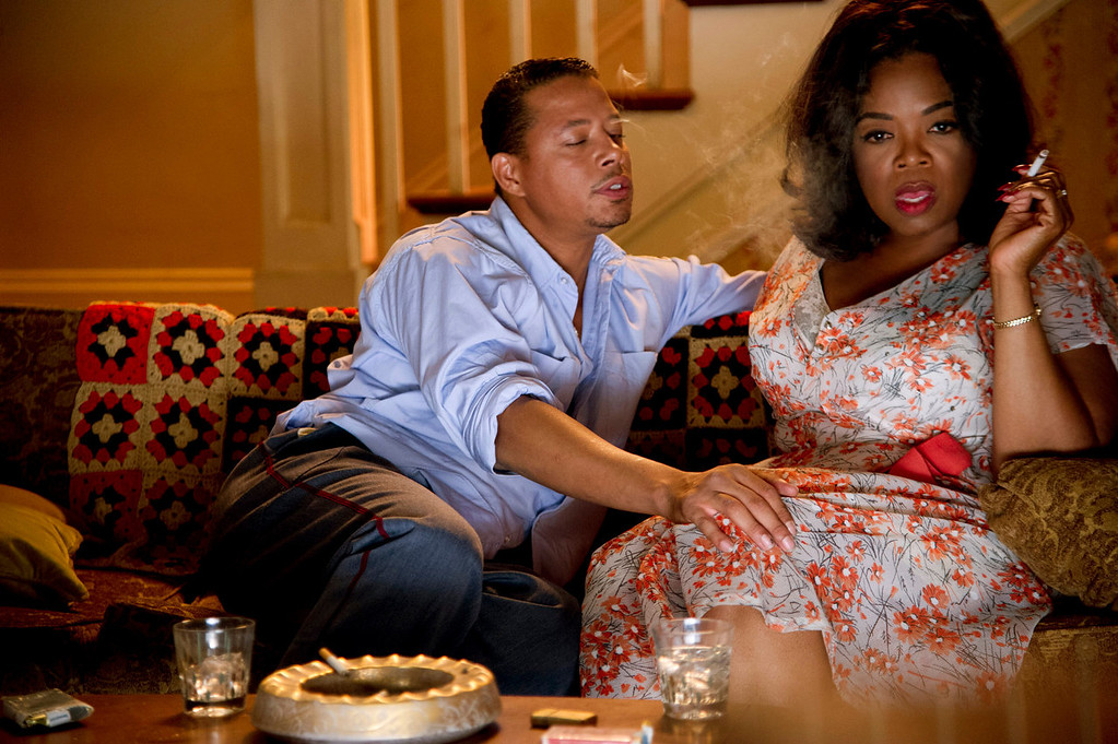 ". Terrance Howard and Oprah Winfrey in ""Lee Daniel\'s The Butler.\"" Provided by the Weinstein Company."