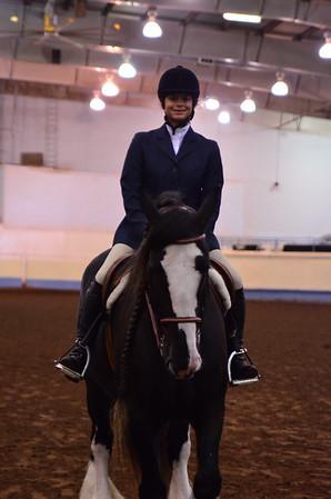 Open Dressage under saddle
