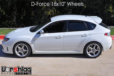 Subaru GR Wheel Testing