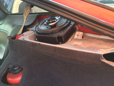 1989 240sx SE Hatchback Rear Hatch Speaker Installation - USA