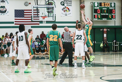 Madison Memorial Boys Basketball - Dec 06, 2013