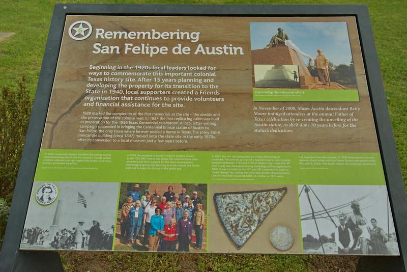 Remembering San Felipe de Austin