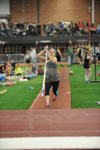 Girls' Pole Vault, Gallery 1 - 2016 MITS State Meet