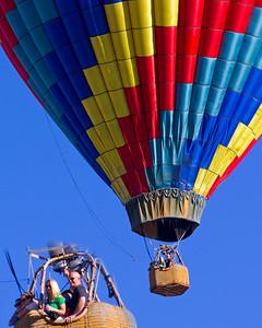Hot Air Balloons / Flying