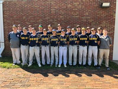 aquin varsity baseball photo session . 4.26.19