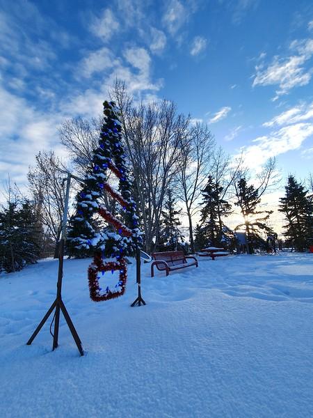 Telford Christmas lights and display