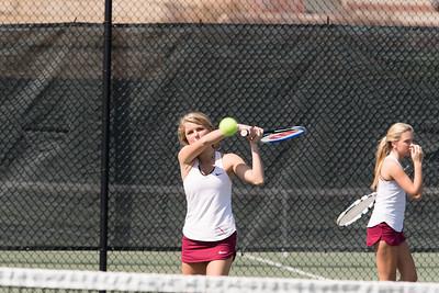 4/14/18: Girls' JV Tennis v Deerfield