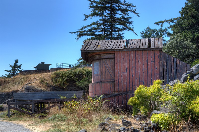"""Searchlight Emplacement No. 6 - Fort Rodd Hill, Victoria, BC, Canada Visit our blog """"Cabin By The Beach"""" for the story behind the photo."""