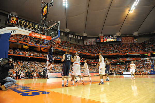 UConn at Syracuse MBB '10