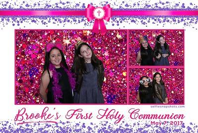 Brooke's First Communion 5-7-2017