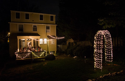 backyard wedding in Washington, DC
