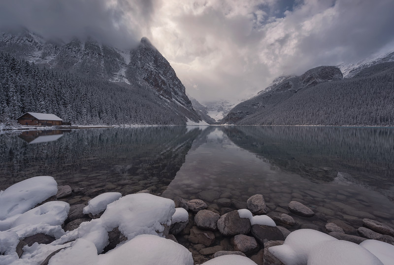 Lake Louise, Banff National Park. Alberta, Canada.