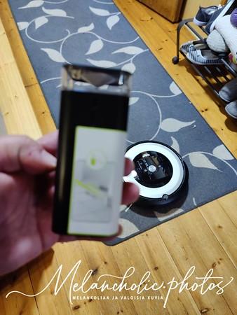 Robotti-imuri iRobot Roomba koiraperheessä