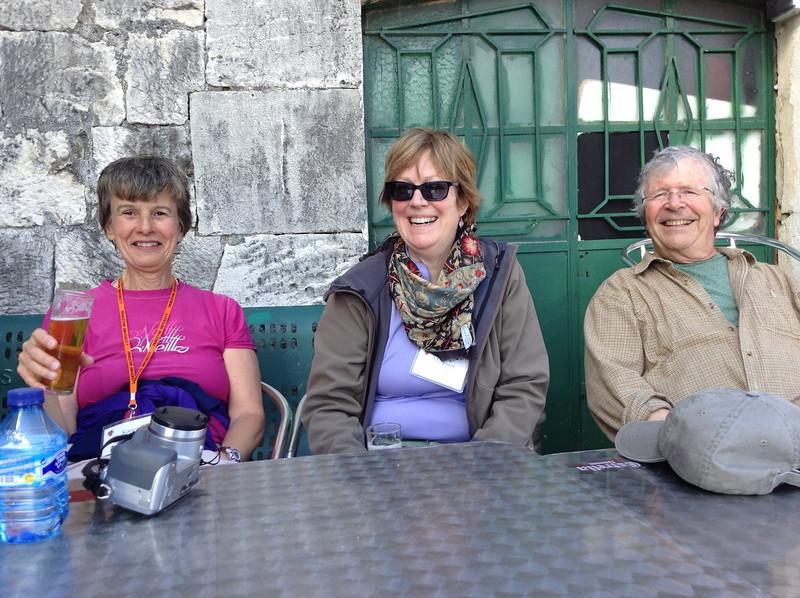 Karen Houck and Carolyn and Terry Fritz - Joan Fleming