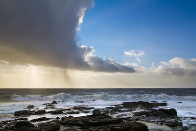 Porthcawl storm - 3 January 2012