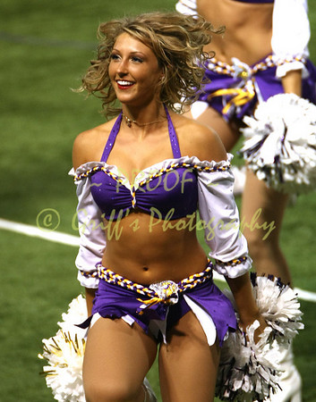 2007 Minnesota Vikings Cheerleaders