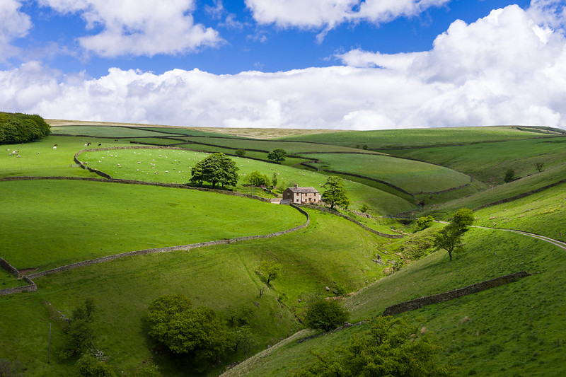 High Peak District, England