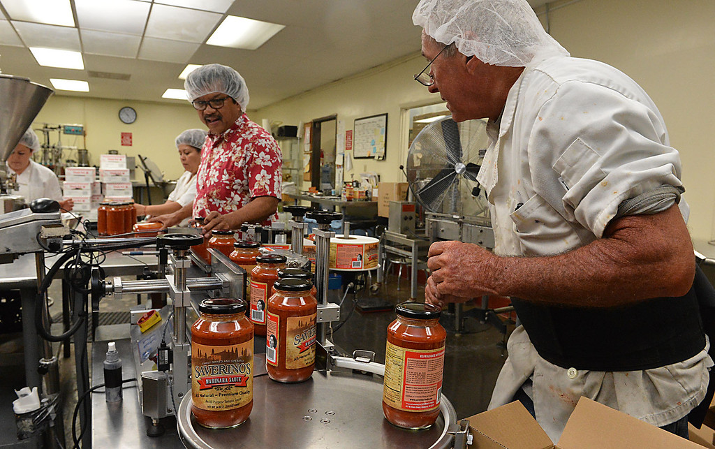 . Following the successful launch of Saverino\'s Italian Deli and Market in Redlands nearly two years ago, David Saverino is bottling the flavor of his business with the introduction of four separate sauces. In addition to selling the sauces at his deli, Saverino hopes to see his product on the shelves of local markets. (Photo by Rick Sforza/Redlands Daily Facts)