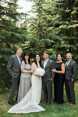 Family + Bridal Party