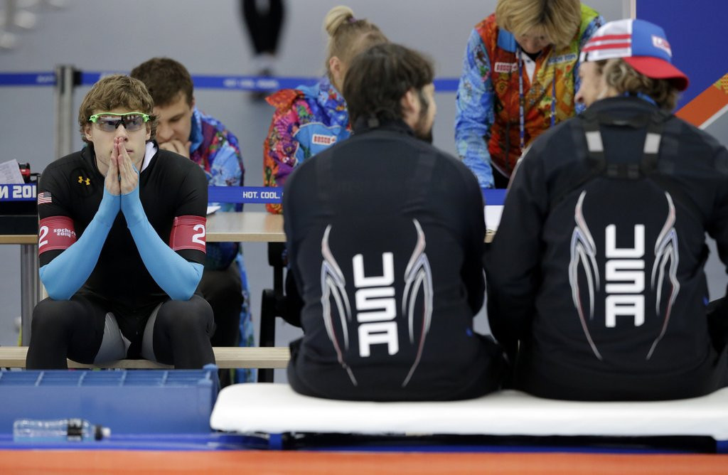 . <p><b>13. U.S. SPEEDSKATING TEAM </b> <p>Eric Heiden would be spinning in his grave if he were, in fact, dead. <p>  (AP Photo/Matt Dunham)