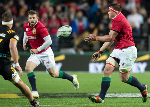 CJ Stander during game 6 of the British and Irish Lions 2017 Tour of New Zealand,The match between  The Chiefs and British and Irish Lions, FMG Stadium, Hamilton, Tuesday 20th June 2017 (Photo by Kevin Booth Steve Haag Sports)  Images for social media must have consent from Steve Haag