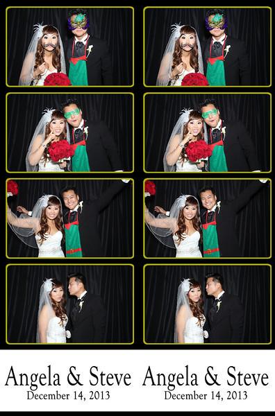 Angela & Steve Wedding December 14, 2013