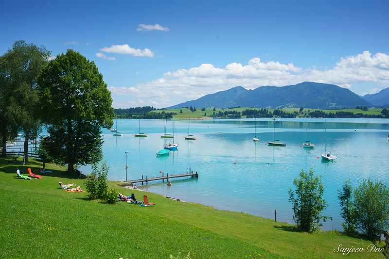Lake Forggensee, Bavaria