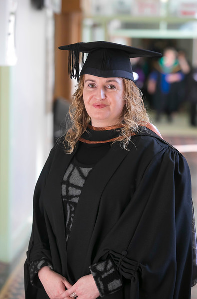 01/11/2018. Waterford Institute of Technology (WIT) Conferring Ceremonies 2018. Pictured is Paulette O'Donovan Clonmel. Picture: Patrick Browne