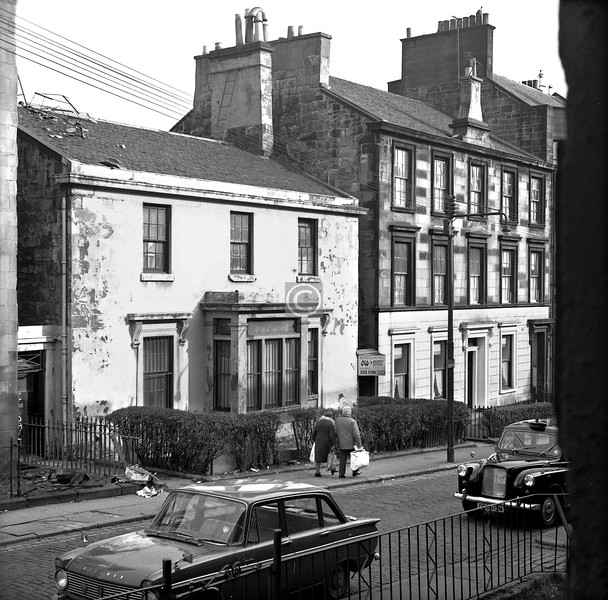 Buccleuch St., north side east of Dalhousie St.   March 1974