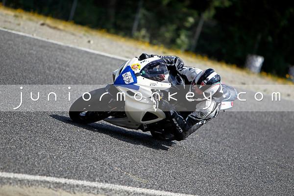 #47 - White Black GSXR