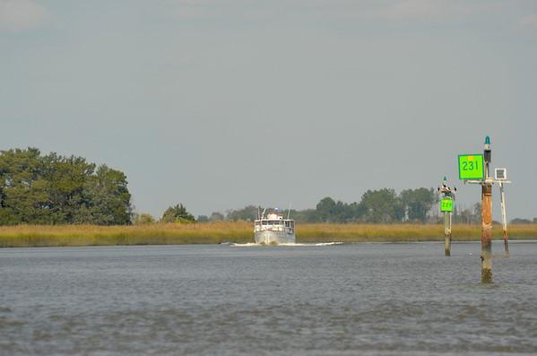 "Trumpy Yacht ""Washingtonian"" 11-10-11 and 04-20-12"