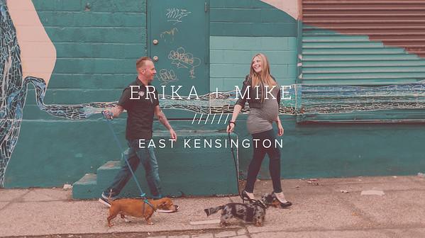 ERIKA + MIKE ////// EAST KENSINGTON