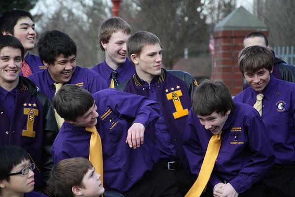 2011-02-17 IHS Wrestling Team photos